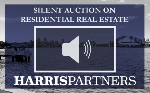 Silent Auction on residential real estate